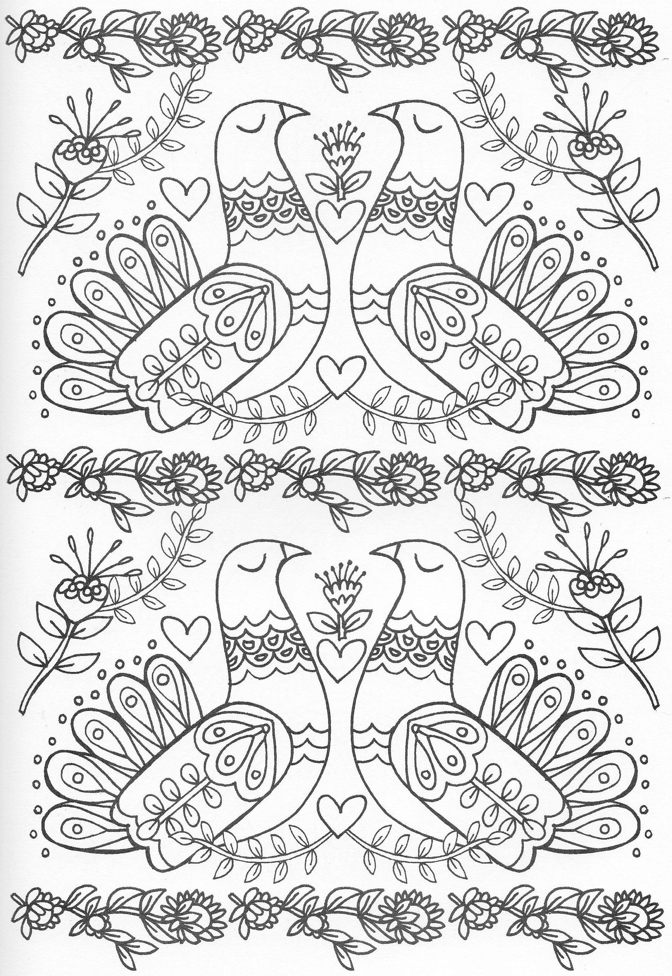 Scandinavian Coloring Book Pg 43