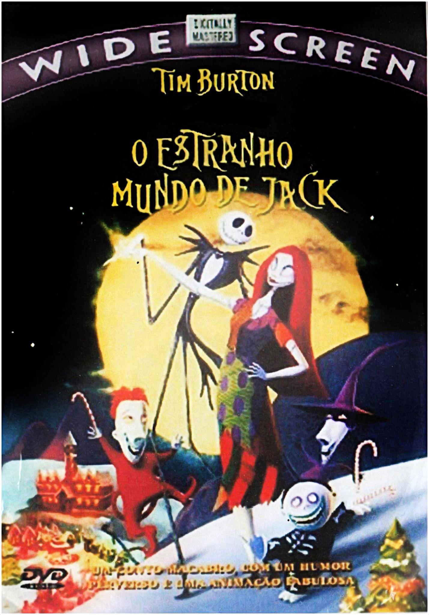 The Nightmare Before Christmas O Estranho Mundo De Jack Dir