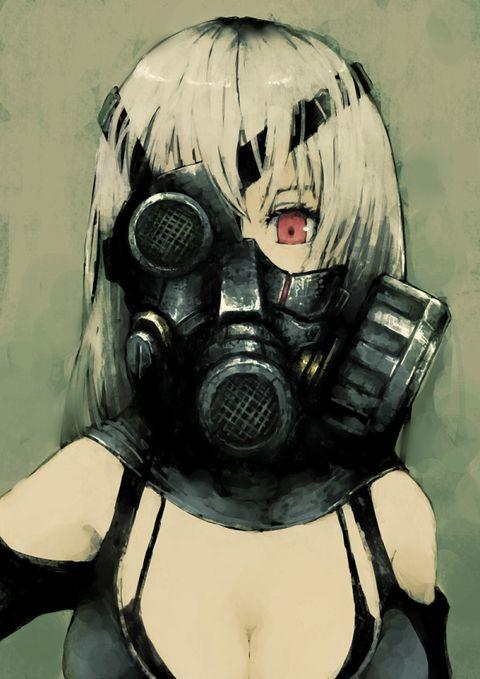 Anime Girl With Gas Mask : anime, 非日常的なカッコよさ】ガスマスク女子, Anime, Mask,, Anime,, Cyberpunk