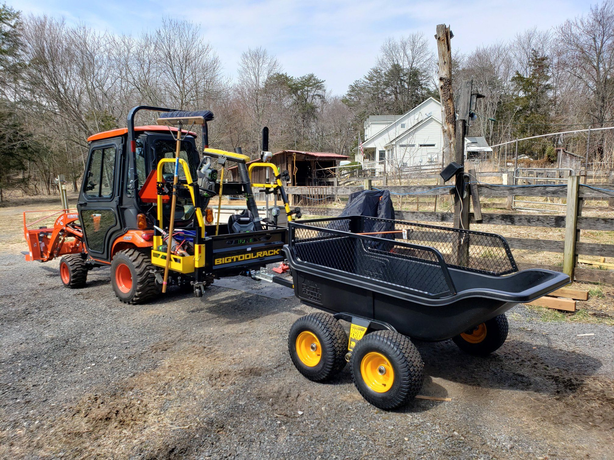 Pin by Chase on BIGTOOLRACK Tractor attachments