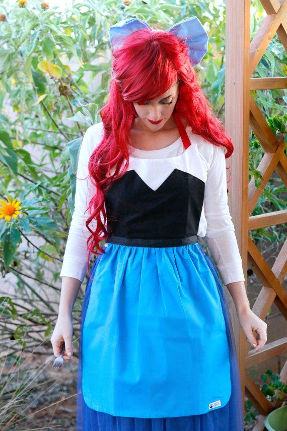 bd6963e5a3764 Land ARIEL The LITTLE MERMAID Disney princess inspired Costume Apron ...