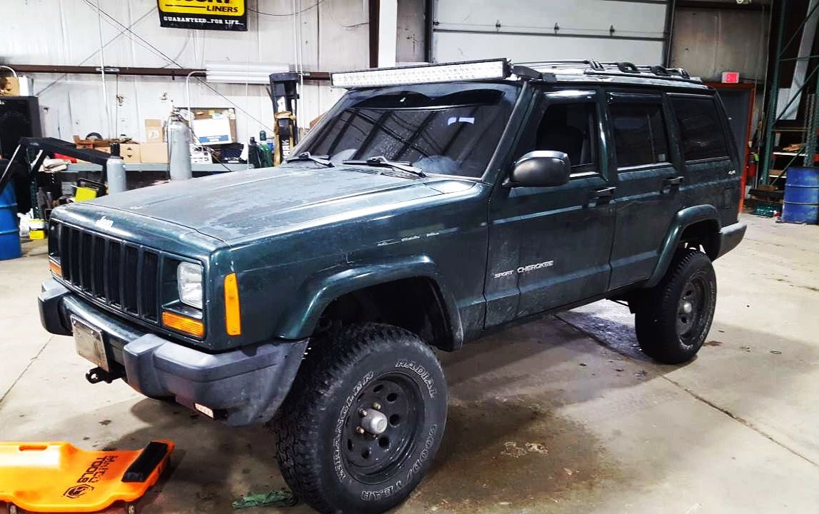 We Got This Jeep Cherokee In From Another Shop That Totally Jacked