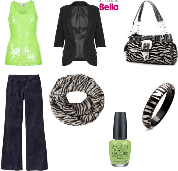 """""""Lime Green & Zebra"""" by ashley-bagby on Polyvore"""