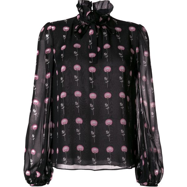 c8b29c4e77ae8 Giambattista Valli floral print blouse ( 1