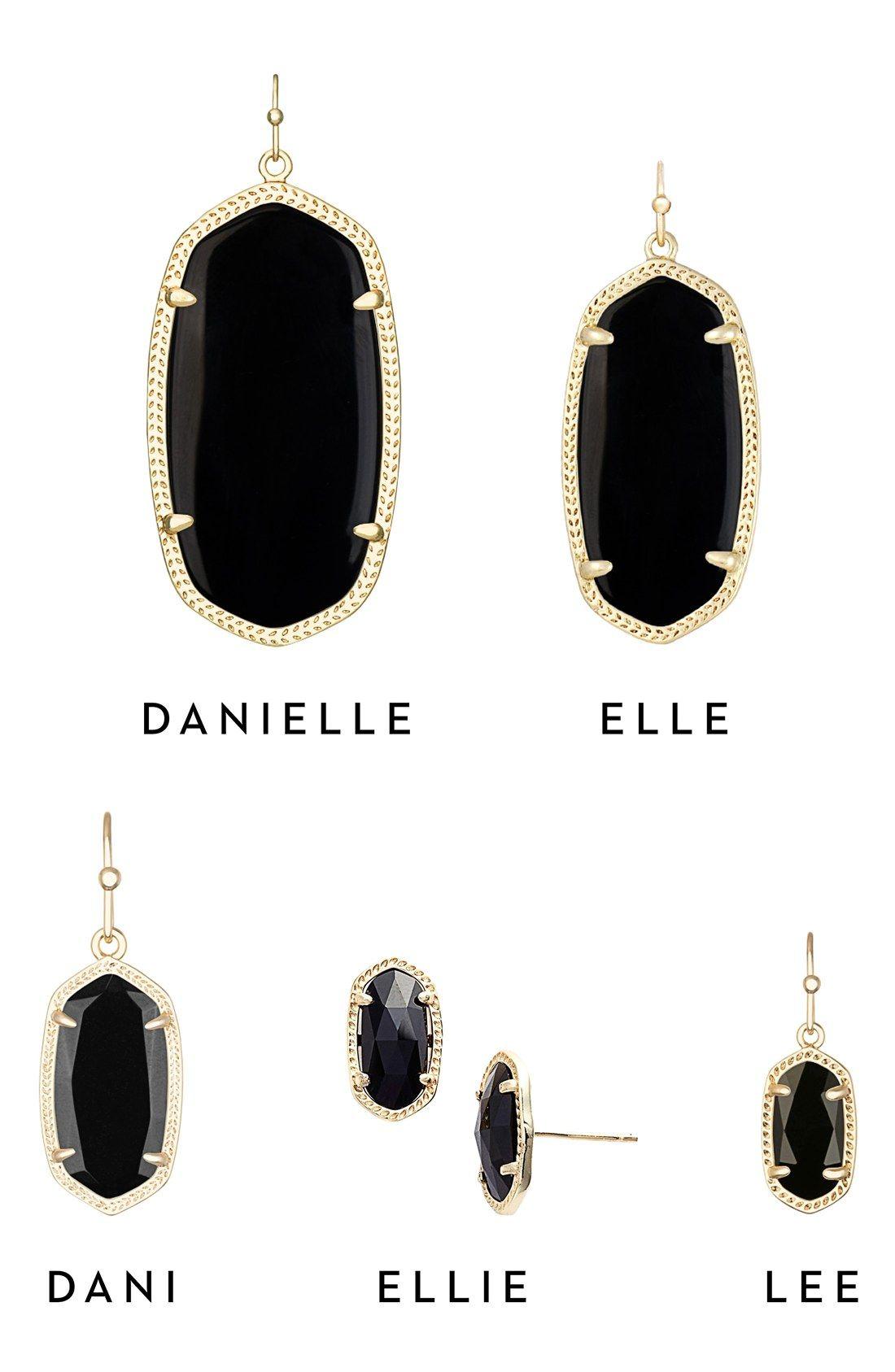 Kendra Scott Earring Sizes Danielle Ellie Dani Lee