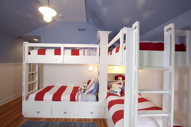 4 bunk beds l shaped plans available httpstonebreakerbuilderscom - L Shaped Loft Bunk Bed Plans