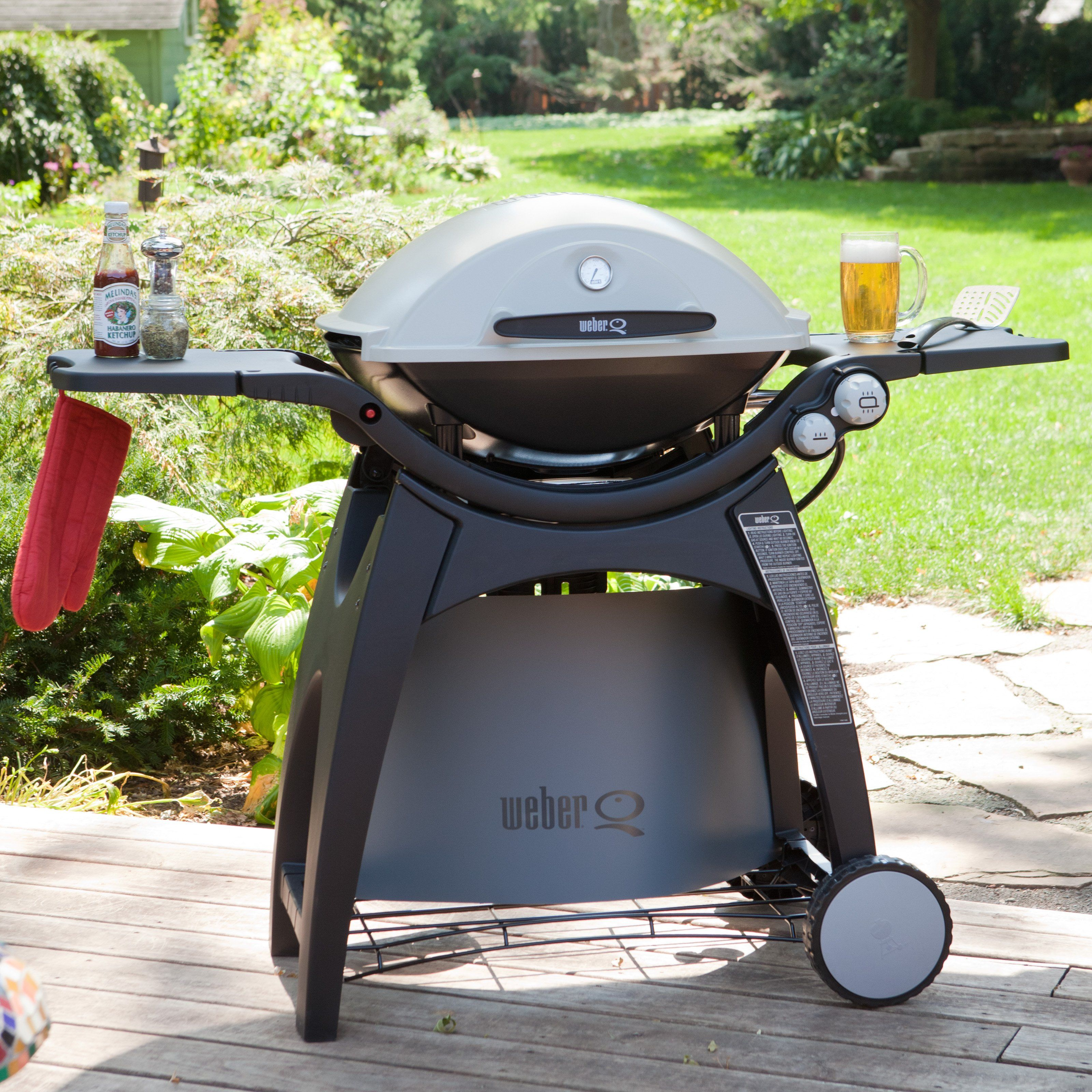 have to have it weber q 300 gas grill 349 outdoors pinterest products. Black Bedroom Furniture Sets. Home Design Ideas