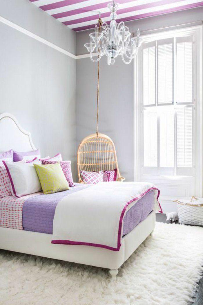 La chambre ado fille - 75 idées de décoration - Archzinefr Pinterest