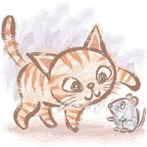 Pin By Sylvia Fryburger On Gatitos Cats Illustration Cute Cat Drawing Cat Art Illustration