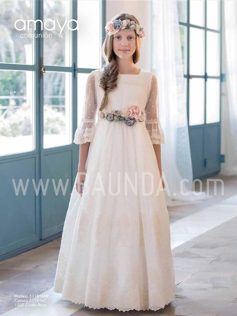 Vestidos comunion amaya online