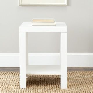 Safavieh Lahoma White End Table Home Accessories Pinterest