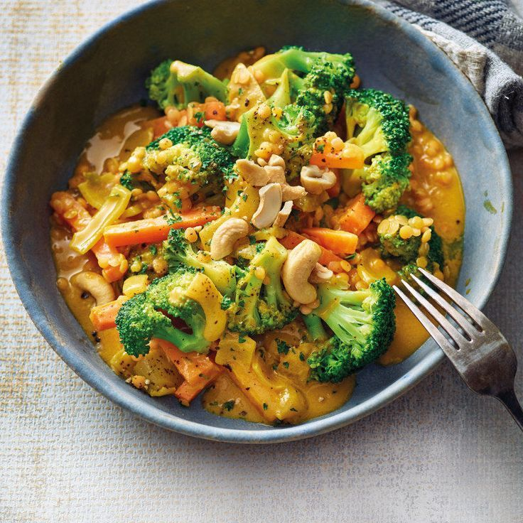 Photo of Broccoli curry with red lentils – Pinohouse
