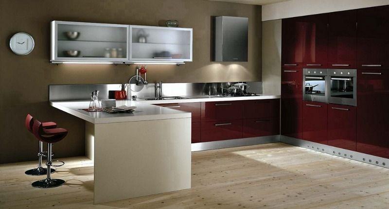 Muebles de cocina cálidos y modernos | Decoración exteriores e ...