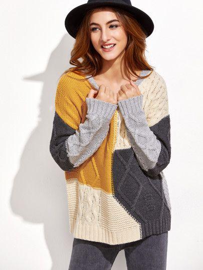 Jersey de color combinado  c3816c332869