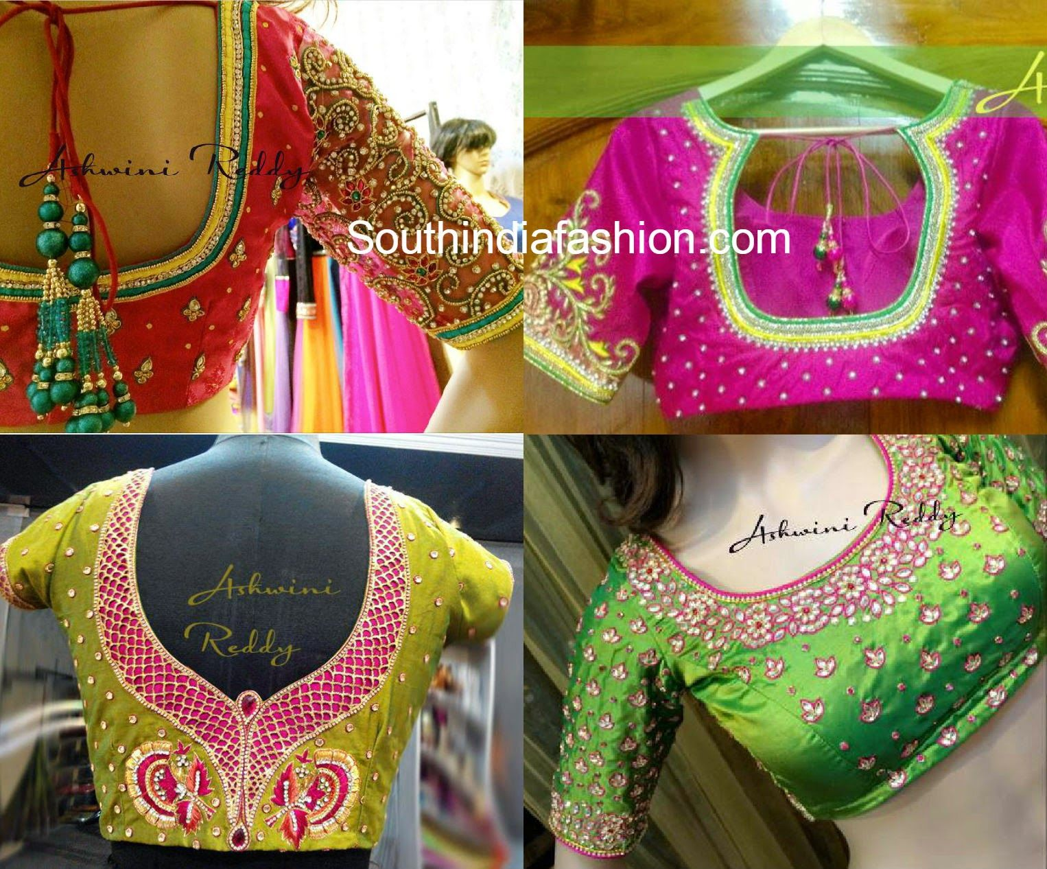 Photo of Kanjeevaram Sarees For Designer Blouses – South India Fashion