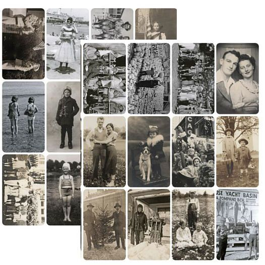 Tim Holtz ~ FOUND RELATIVES ~ Vintage Portraits ~ Idea-ology