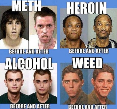 Drugs: Before and After - 9GAG