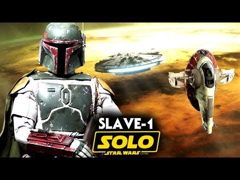 Spread the love - Compartir en Redes Sociales Solo A Star Wars Story Boba Fett's Slave 1 Teased/Spotted! New Footage. Lets go over some star wars news when it comes to solo a star wars story and the solo a star wars story tv spot