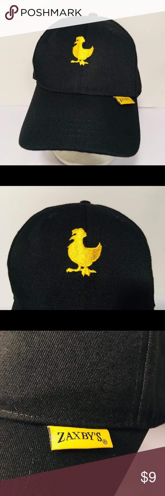 Zaxby's Hat, Employee, Black, Adjustable B • Get your