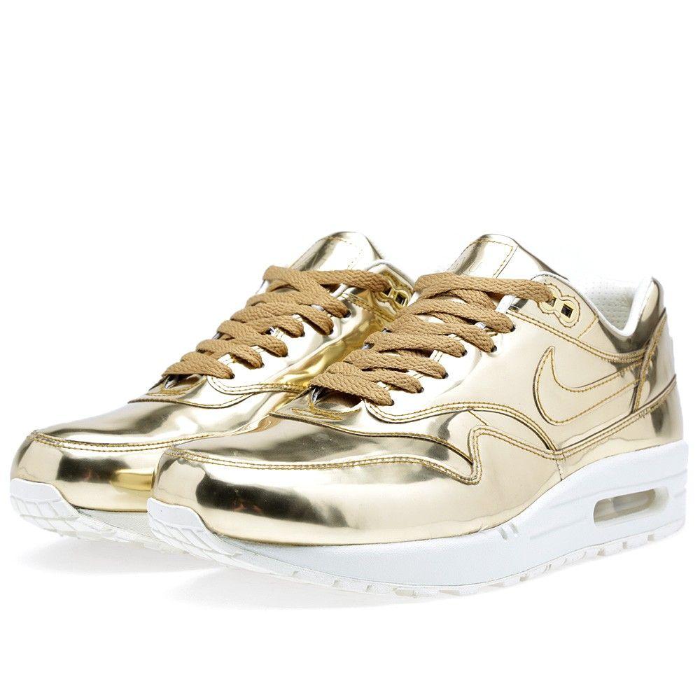 Nike Air Max 1 SP 'Liquid Gold' (Metallic ...