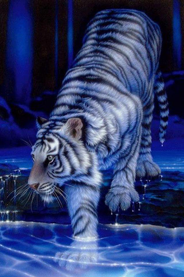 Cool Tiger IPhone Wallpaper