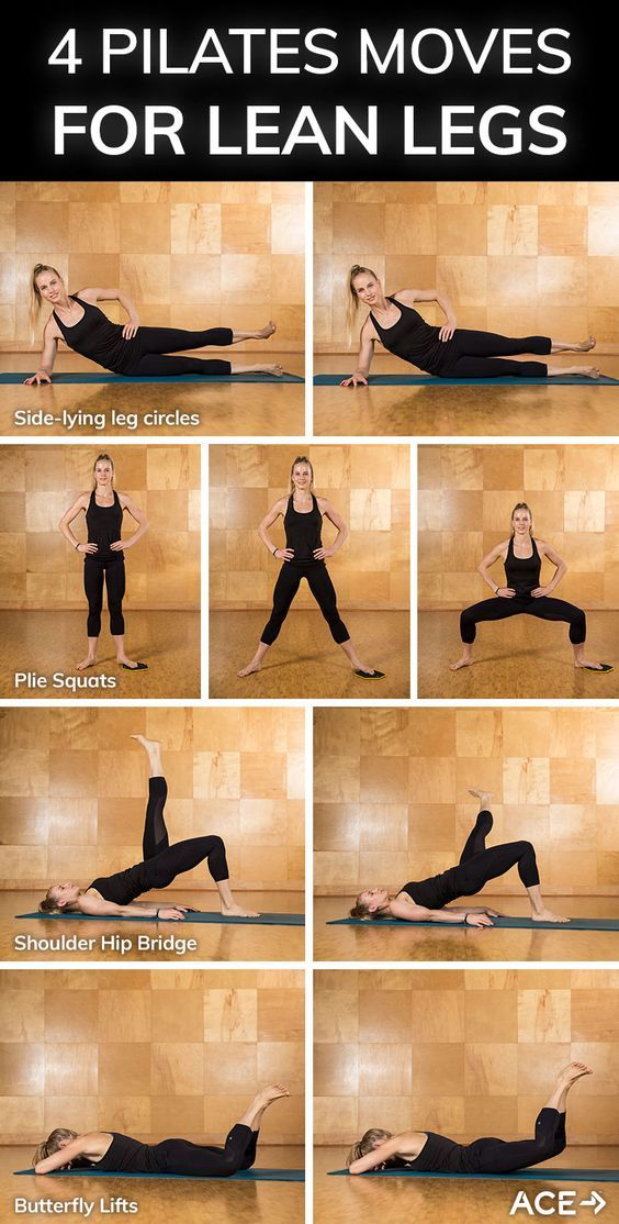 Four Pilates Moves for Lean Legs