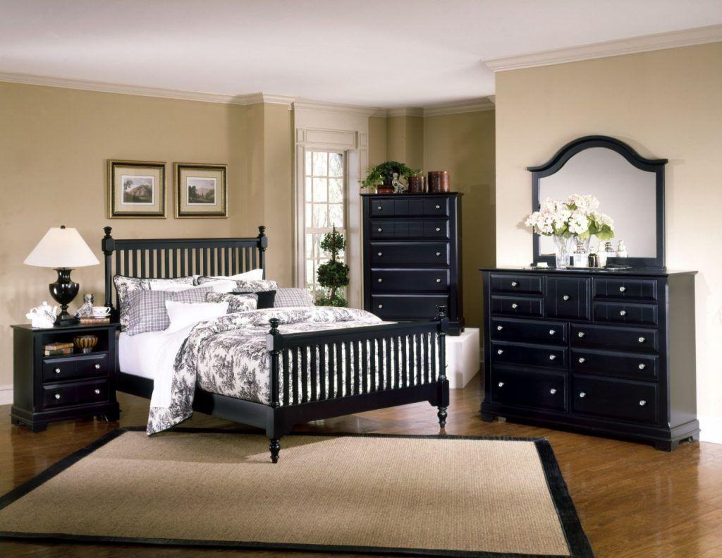 Schwarz Schlafzimmer Möbel Sets aus Holz x Schlafzimmer