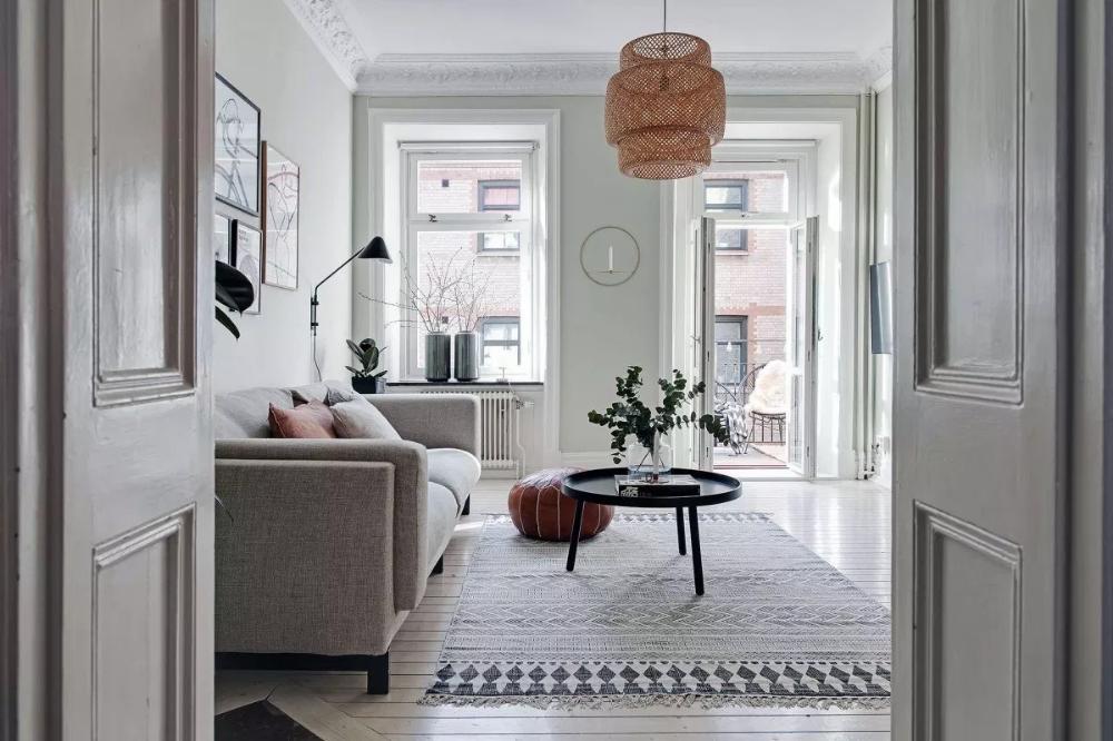 Cocina Cerrada Nordica Diseno De Interiores Decoracion Sueca Y