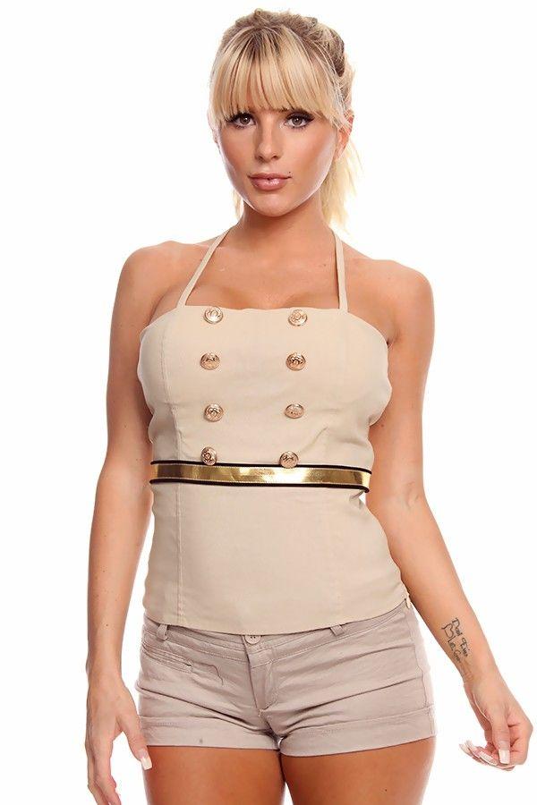 tops corset Sexy