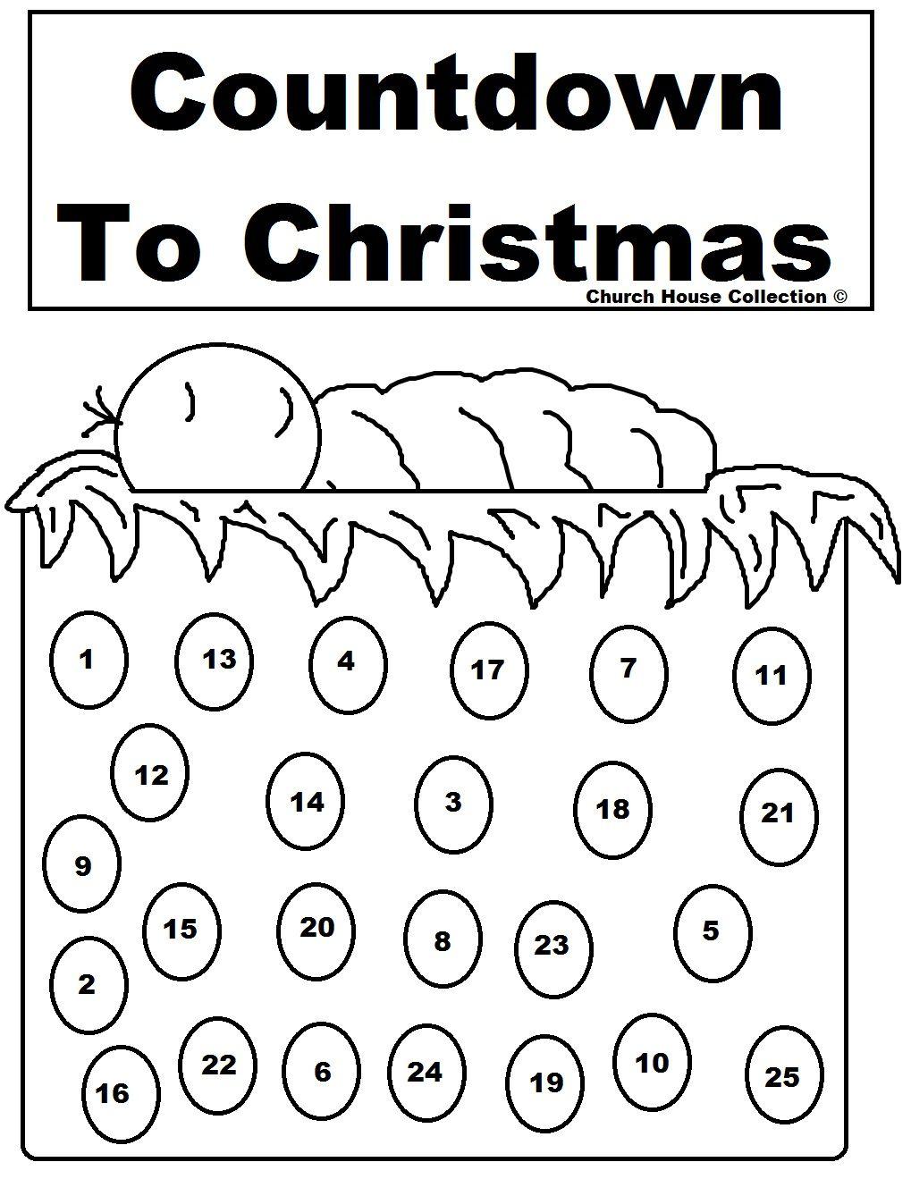 Baby Jesus Advent Calendar Jpg 1 019 1 319 Pixels Printable Advent Calendar Advent Coloring Christmas Countdown Calendar [ 1319 x 1019 Pixel ]