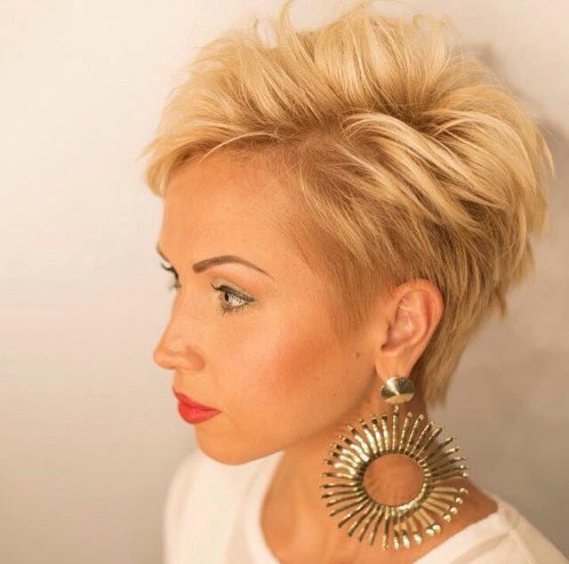 Hübsche Frisuren Für Feines Haar Coole Kurzhaarfrisuren Für Frauen
