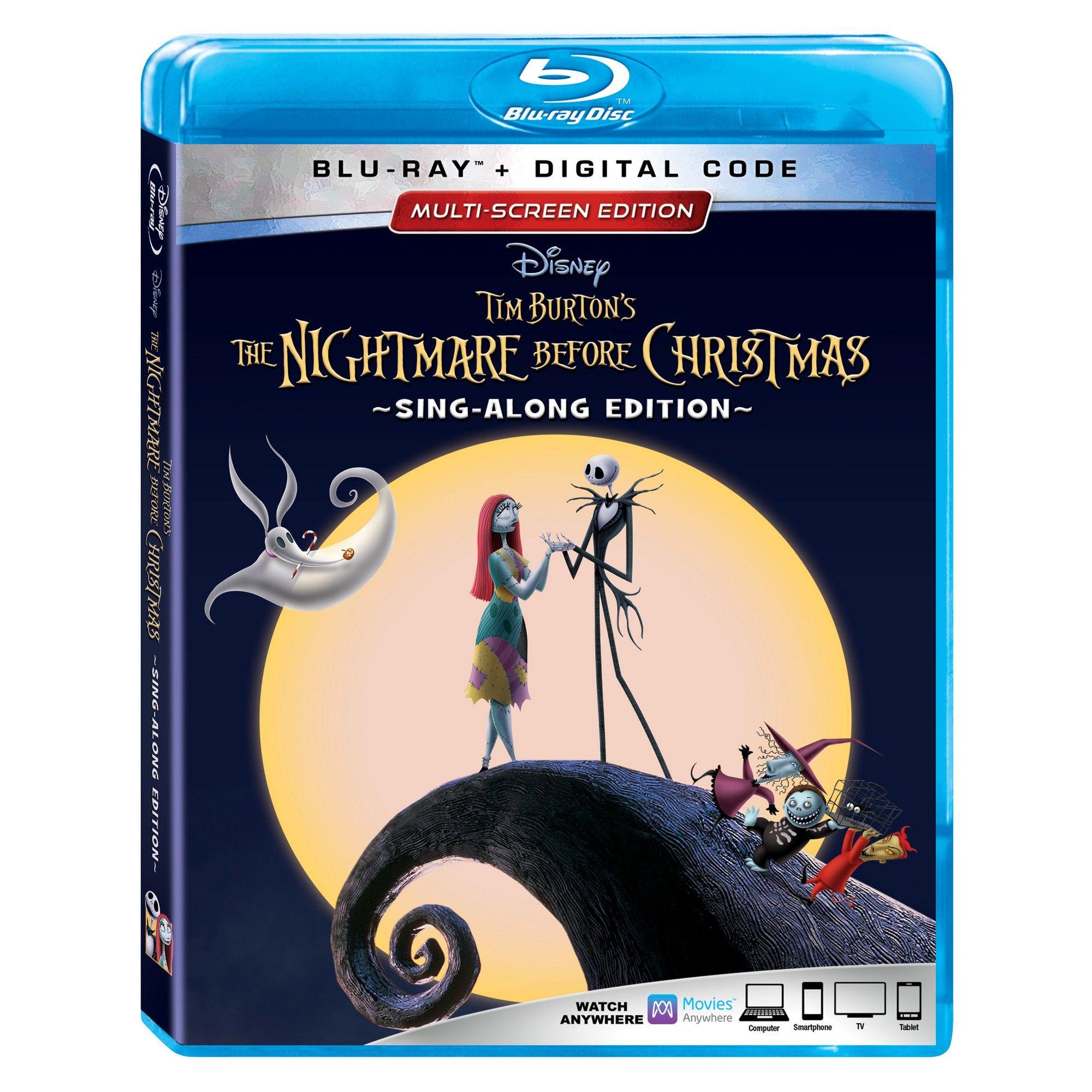 The Nightmare Before Christmas 25th Anniversary Edition (Blu-Ray + ...