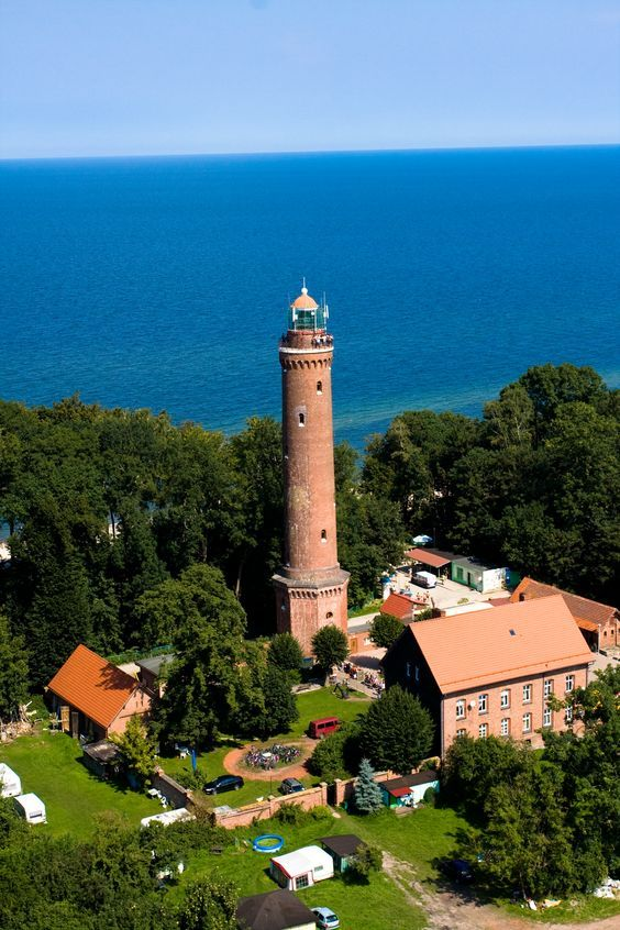 lighthouse in poland - Google Search
