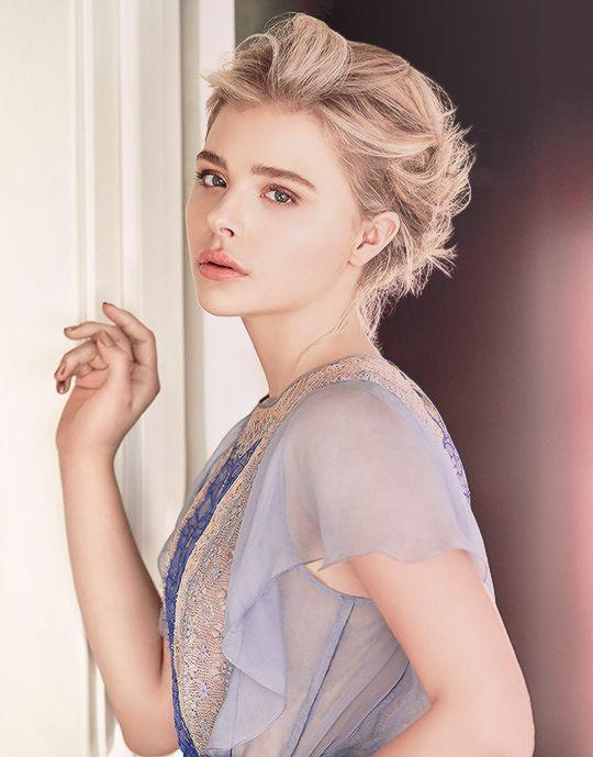 Chloe Moretz for Glamour Mag