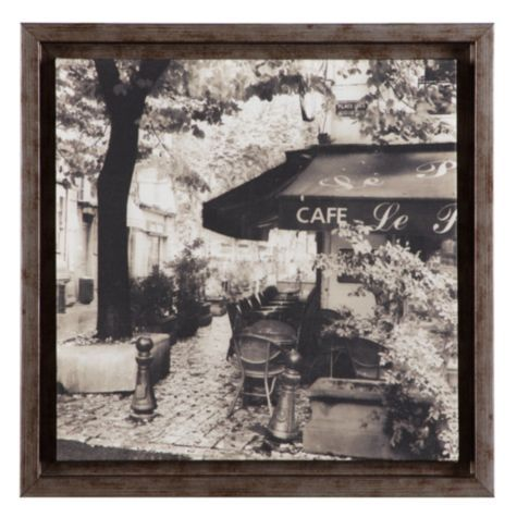 Cafe from z gallerie framed art prints aix en provence - Piscine plein air aix en provence ...