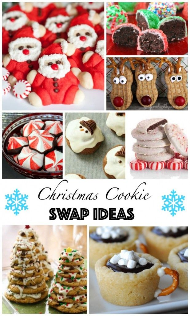 Love All Of These Christmas Cookies Great Cookie Swap Ideas Want