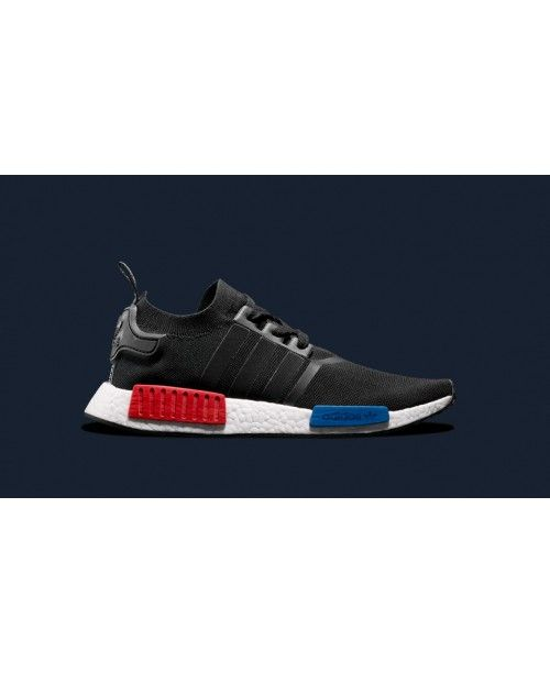 Adidas 2016 NMD R1 Men Black White Red Blue Online Shoping Ultra-low price  discount