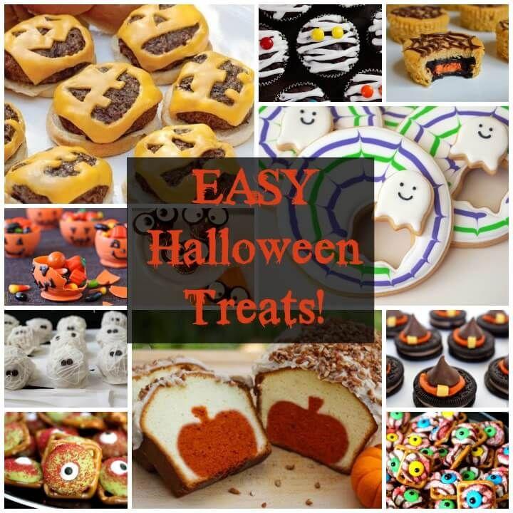 More Great Halloween Treats! (and easy, of course!) via @jfishkind - cute easy halloween treat ideas