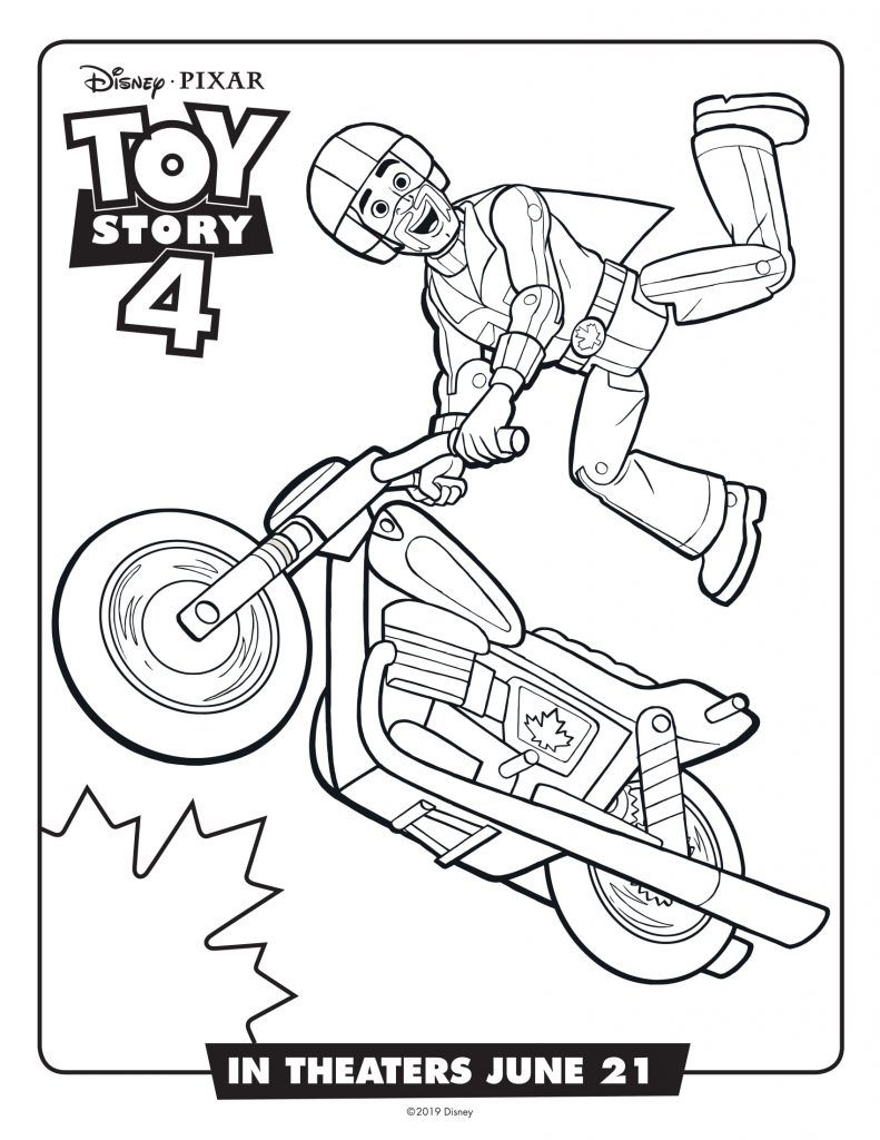 Toy Story 4 Coloring Pages Toy Story Coloring Pages Coloring