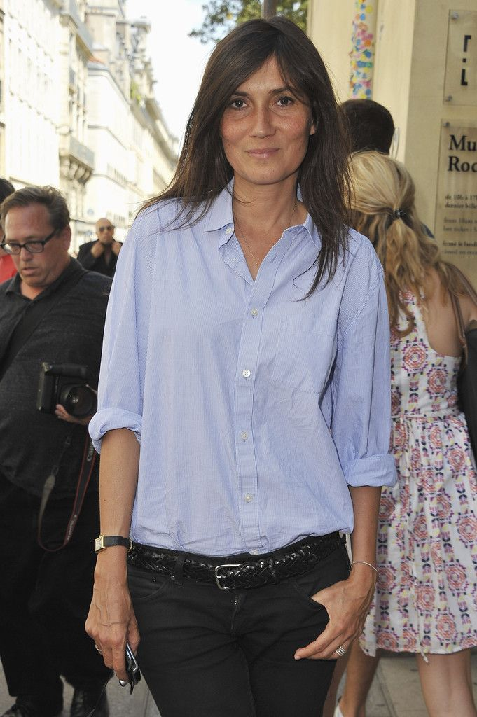 Emmanuelle Alt Photos - Christian Dior- Arrivals - Paris Fashion Week Haute Couture F/W 2011/2012