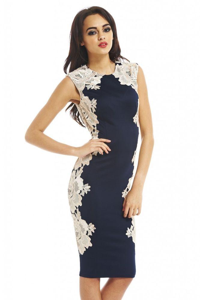 Ax paris burgundy lace side detail midi dress