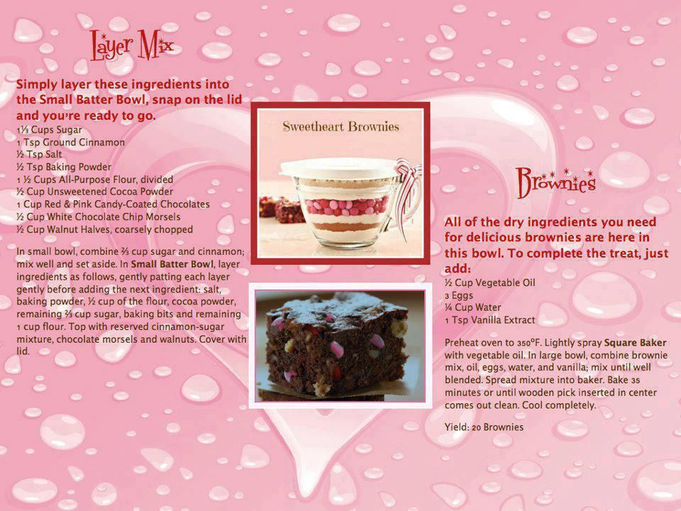 Sweetheart Brownies Also Great In Our Brownie Pan Www