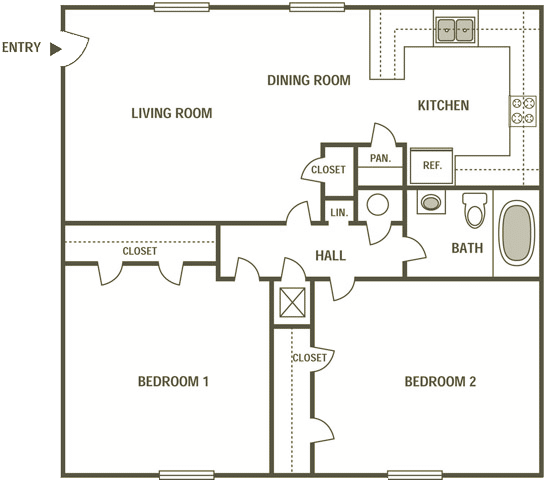 Pin By Madison On Dietrich Apartment On Two Bedroom