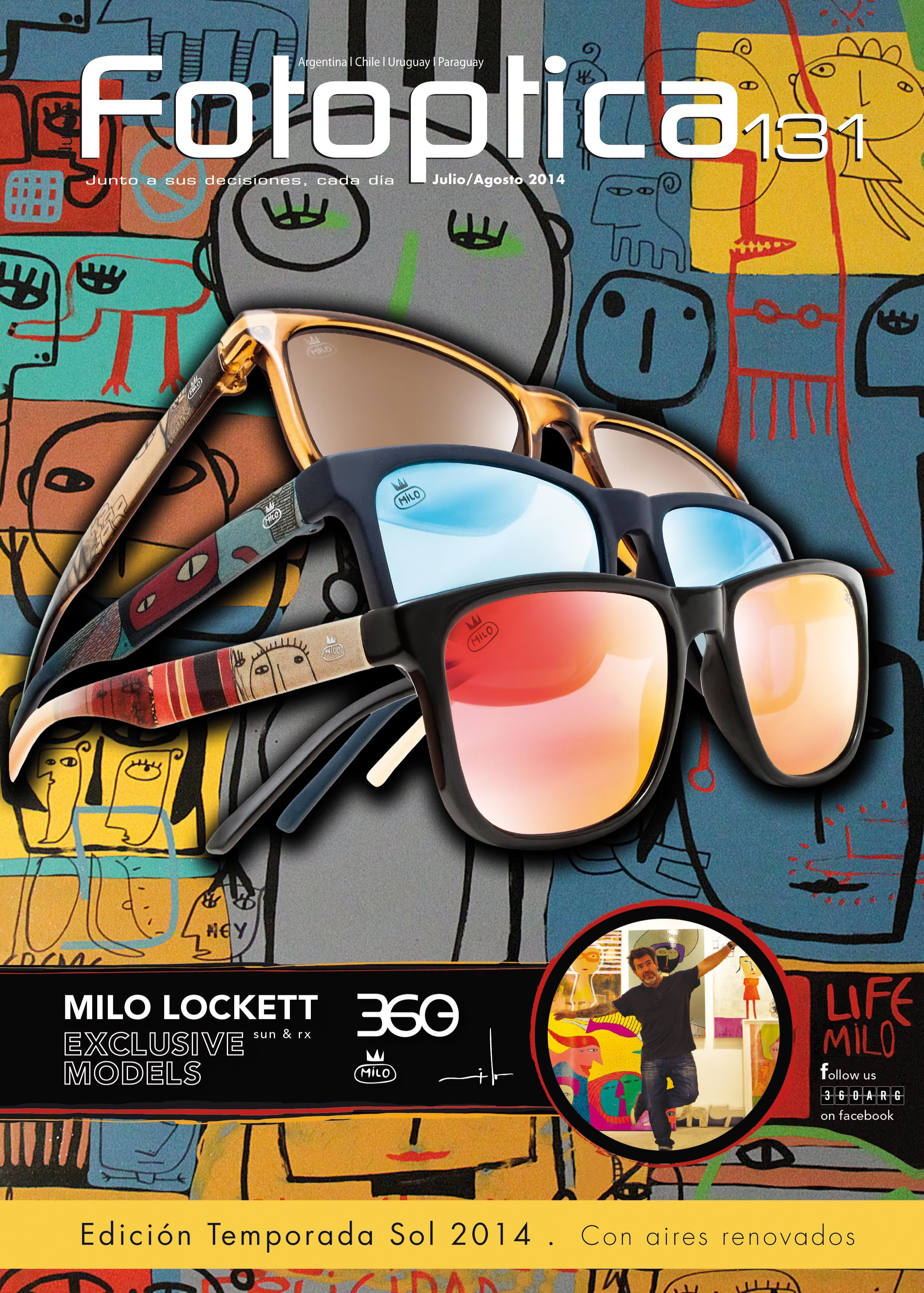 eccbc54b2 Revista Fotoptica 131. Gafas 360+Milo Lockett   Revista Fotoptica ...