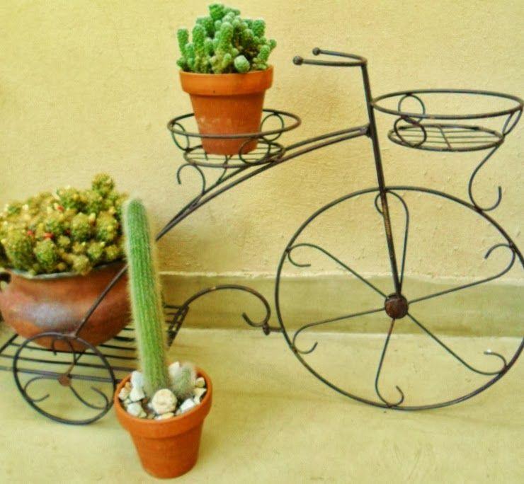 Adornos de jardin con macetas y madera buscar con google for Adornos de madera para jardin