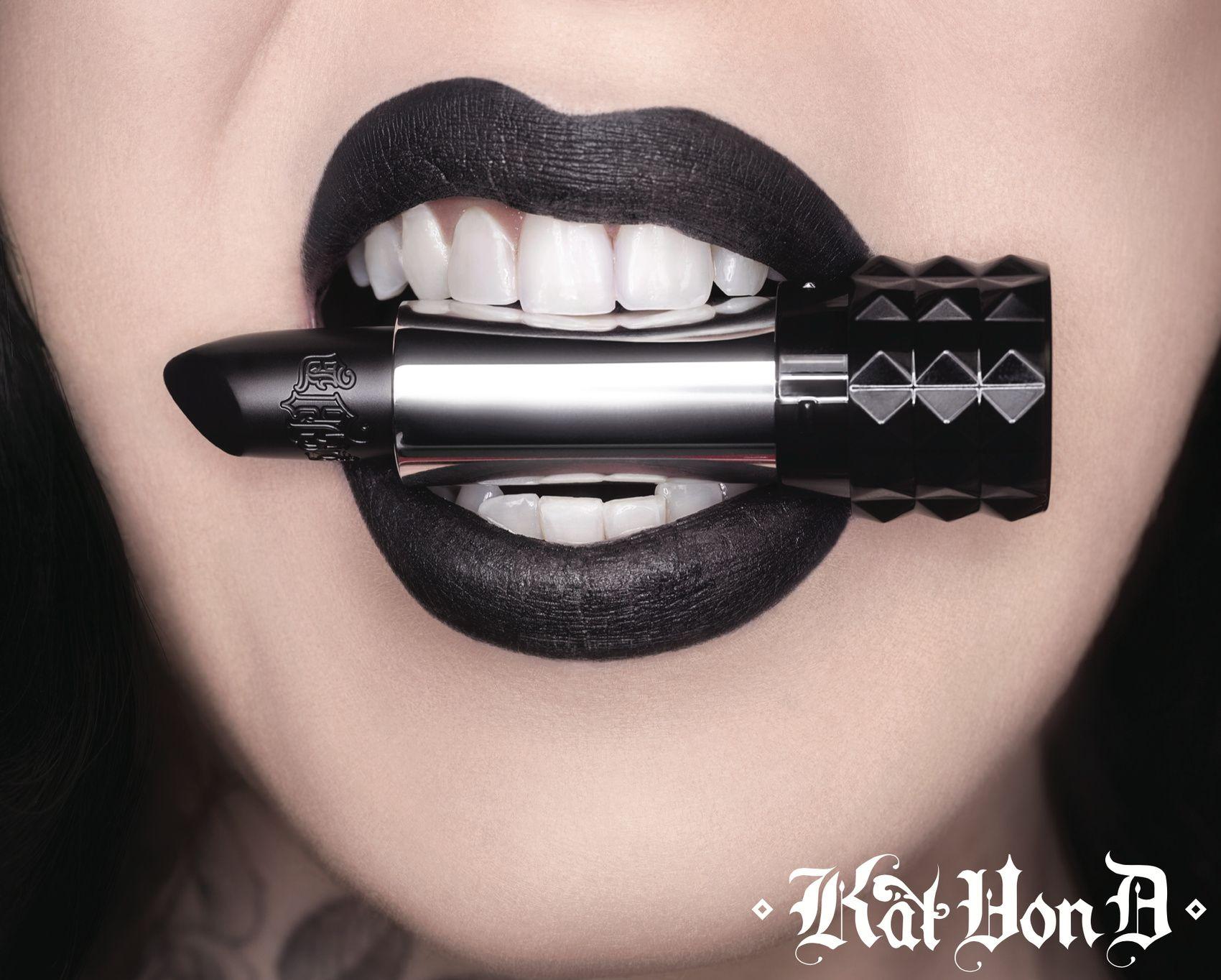 Lionel Deluy - Kat Von D - Makeup - Lipstick