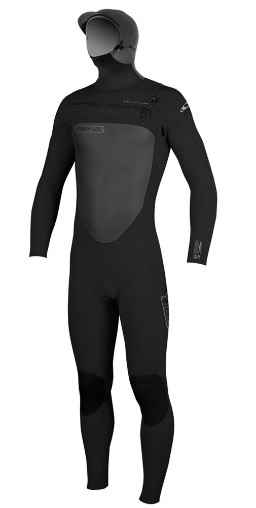 O Neill Superfreak Wetsuit Men S 5 4mm F U Z E Zip Hooded Wetsuit Chest Entry Wetsuit Men Wetsuits Wetsuit