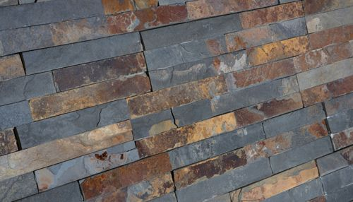 Look Up Mosaic Natural Stone And Gl Pool Tiles Variegated Slate