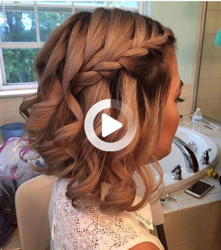 27 Prettiest Half Up Half Down Prom Hairstyles for 2019 - Style My Hai
