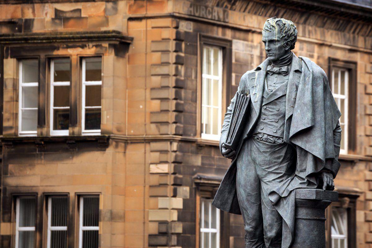 William Henry Playfair Monument Chambers Street Edinburgh